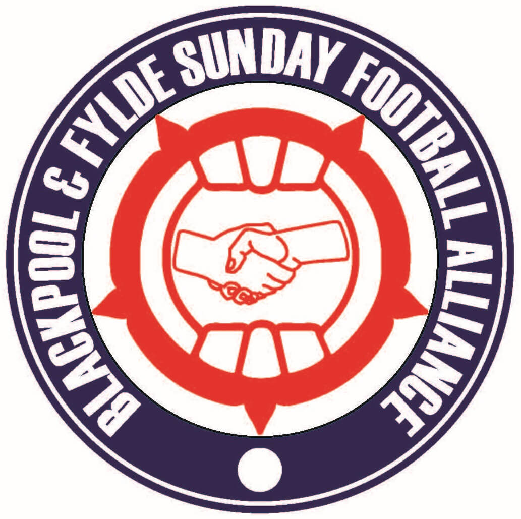 Blackpool and Fylde Sunday Football Alliance logo